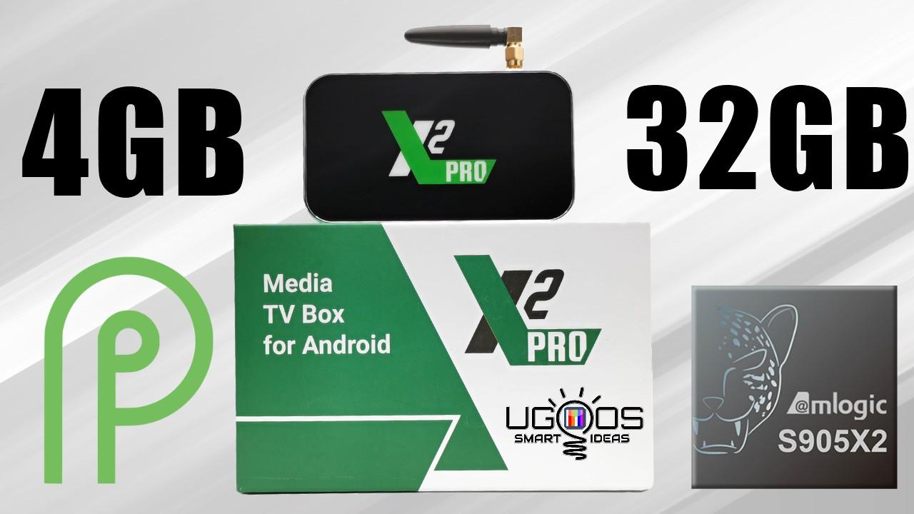 Ugoos X2 Pro TV Box Banner
