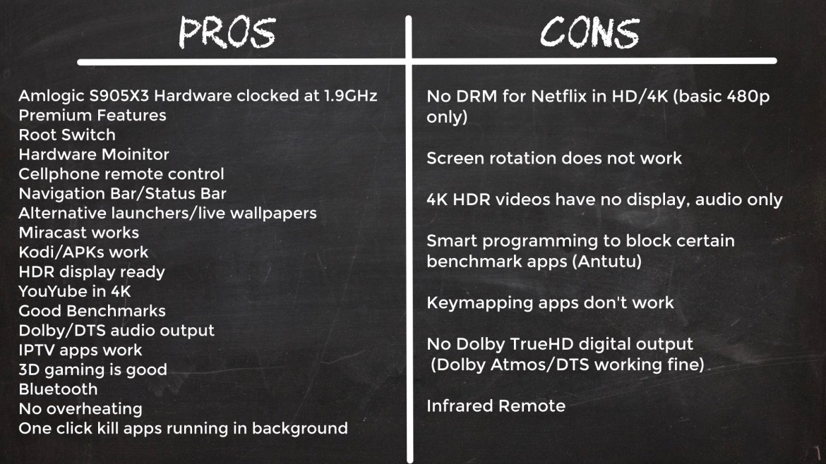 H9 X3 Pros and cons
