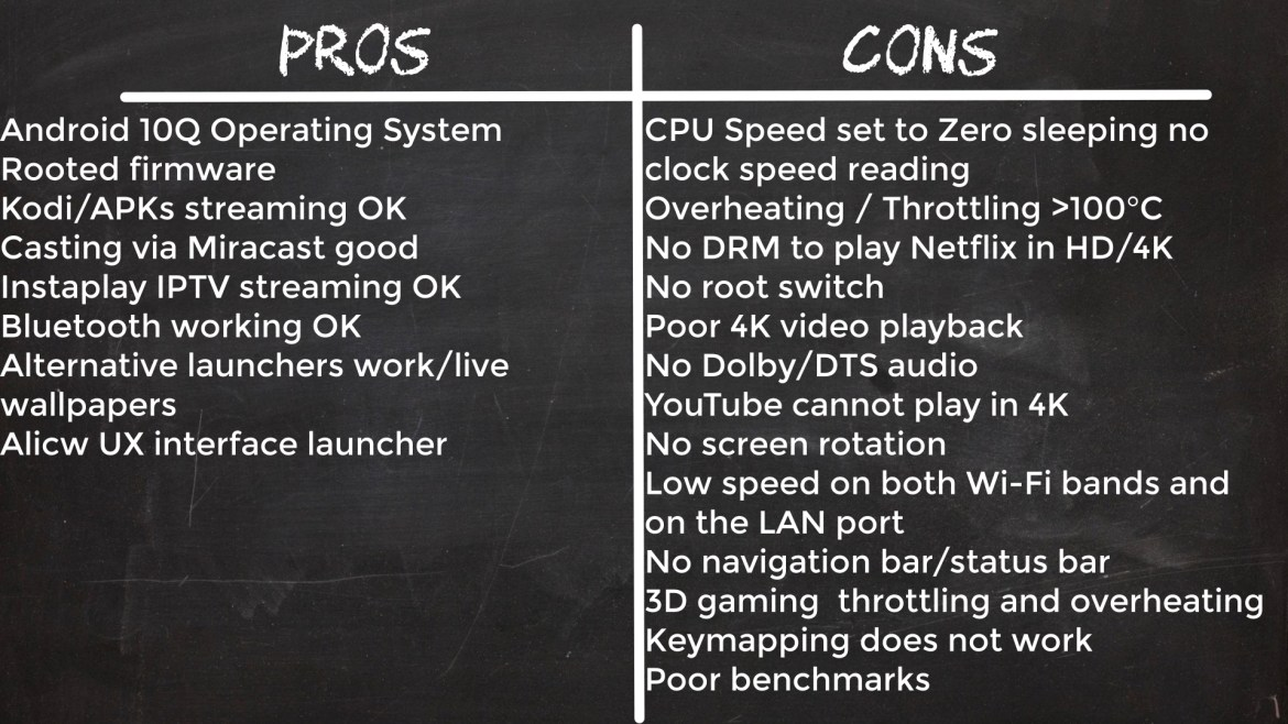 Pendoo X11 Pro Pros and cons
