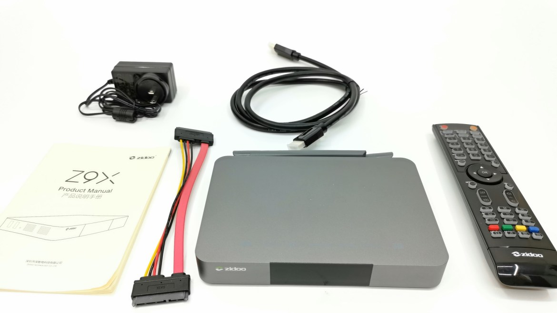 Zidoo Z9X in the box