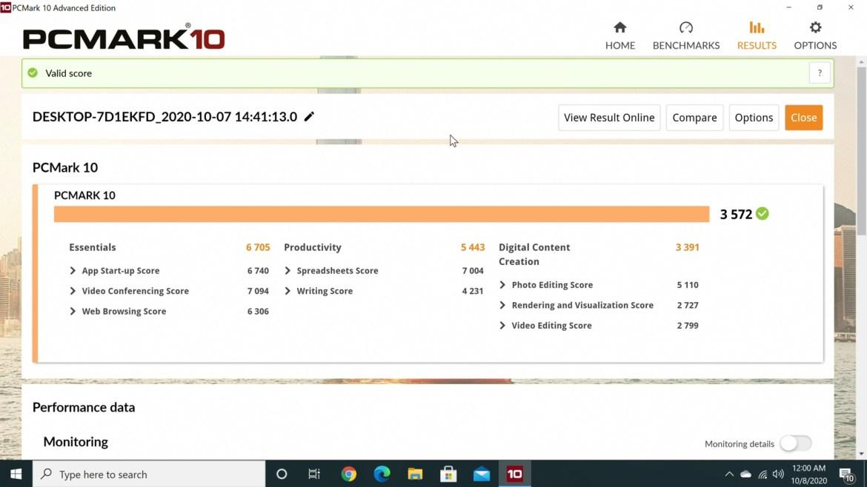 Beelink GTR Mini PC PC Mark10 benchmark