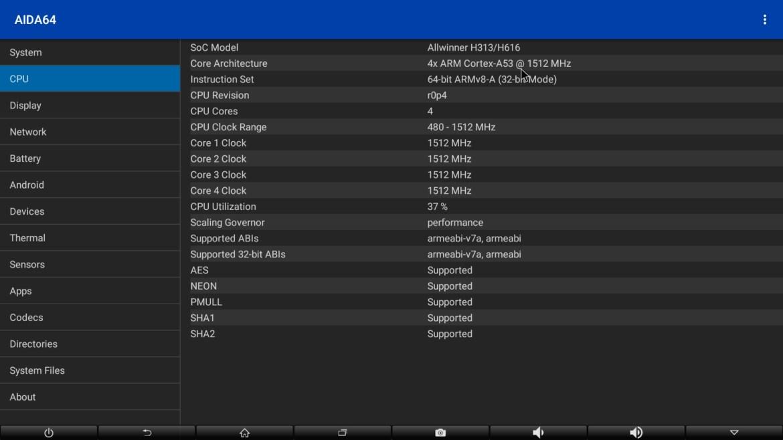 OMIKAI K1 CPU info