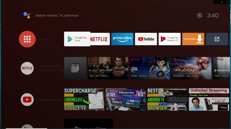 Xiaomi Mi TV stick Android TV launcher