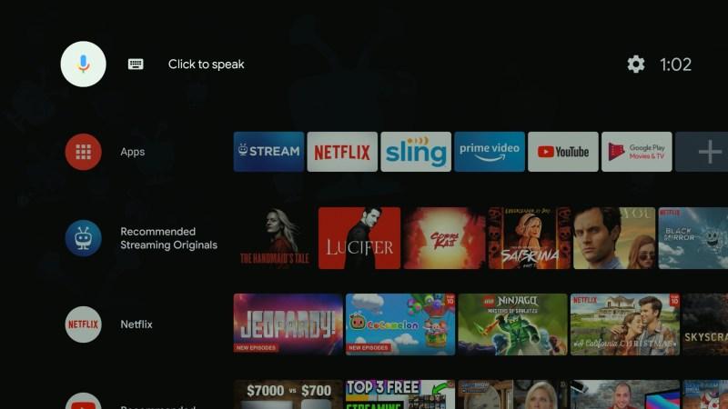 TiVo Stream 4K launcher