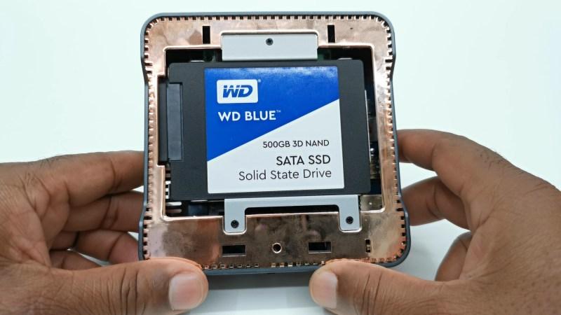 A95X Max II SATA storage expansion