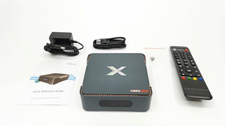 A95X Max II in the box
