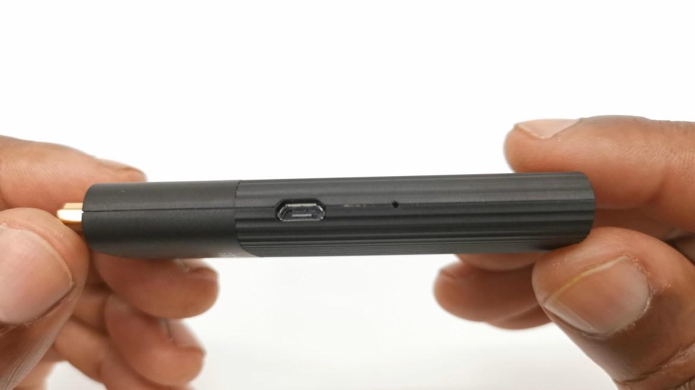 Mecool KD1 Micro USB port