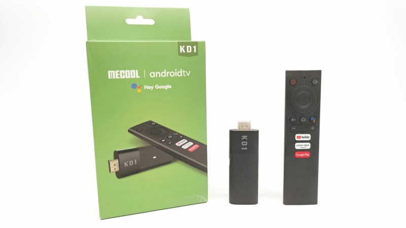 Mecool KD1 TV Stick package
