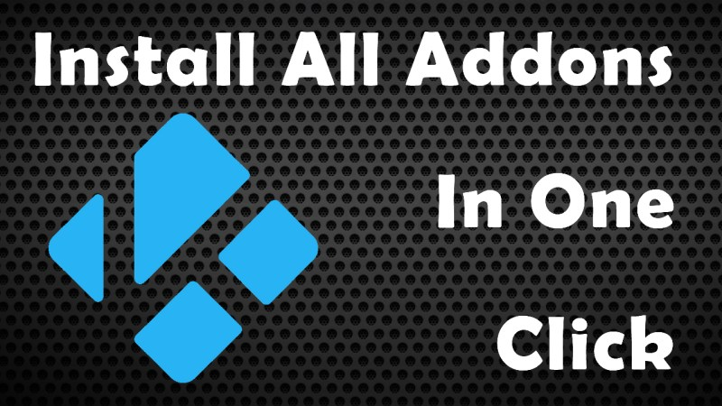 Install Addons in one click