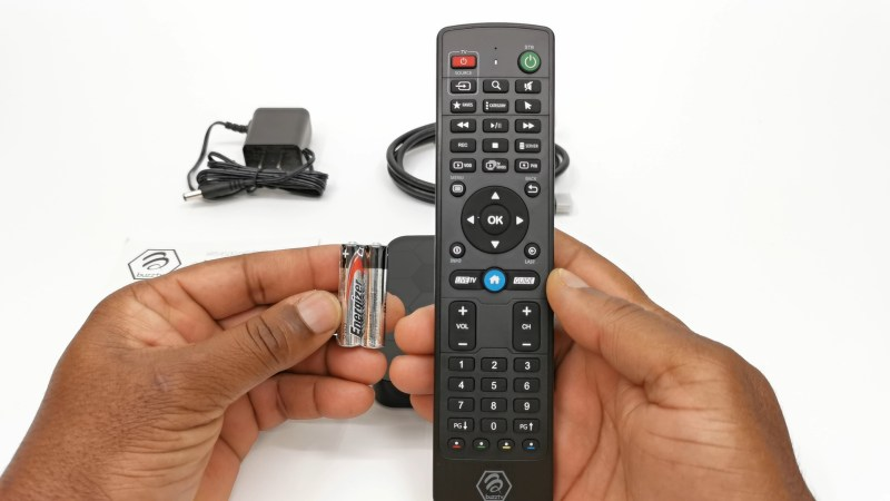 BuzzTV XRS4500 Bluetooth remote