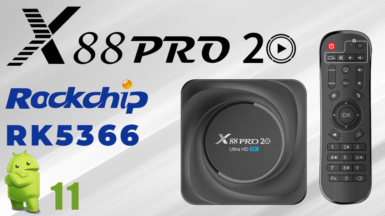 X88 Pro 20 TVBox