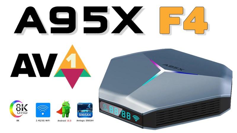 A95X F4 TV Box