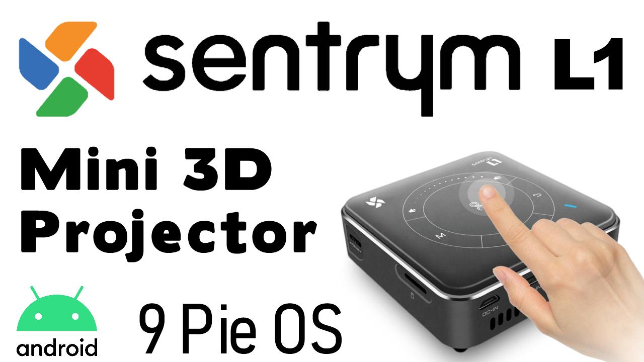 Sentryum L1 Mini 3D Projector