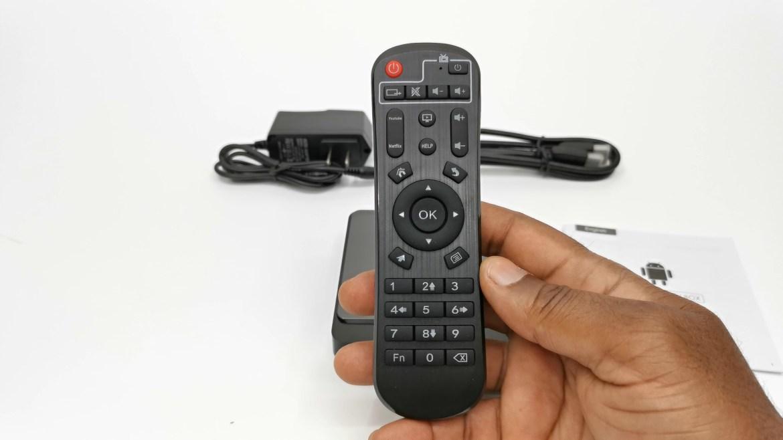 X4 Pro TV Box IR remote