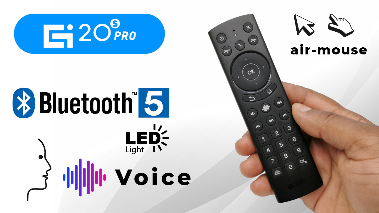 G20s Pro Bluetooth Wireless Air Mouse