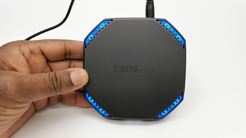 T95 Plus RGB lights