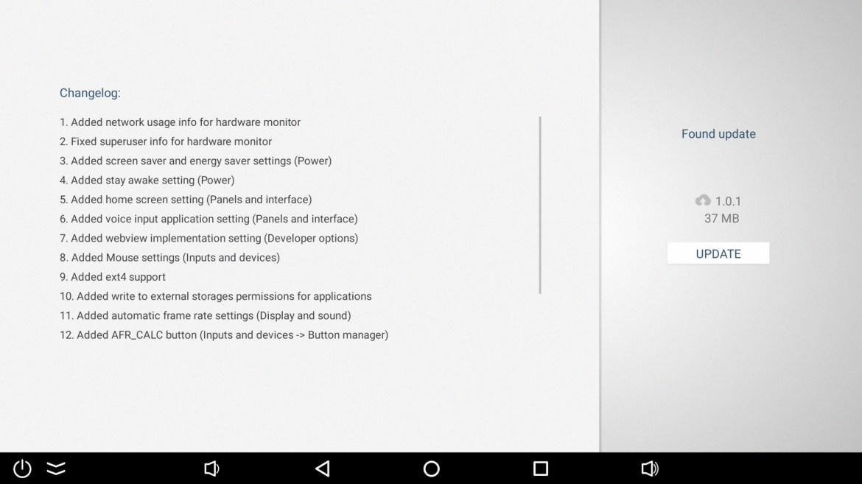 Ugoos AM7 firmware updates