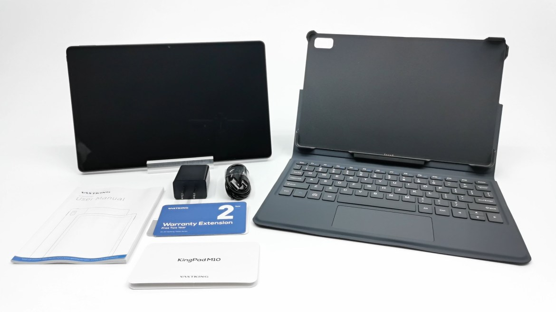 Vastking Kingpad M10 Tablet in the box