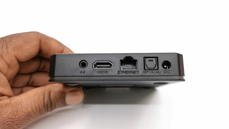 X96 X4 rear IO ports