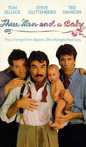 Poster do filme Três solteirões e um bebê