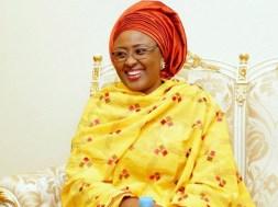 Wife of the President, Aisha Buhari, tvc