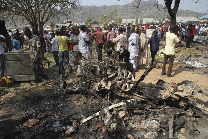 Explosion kills 10 worshippers in Maiduguri mosque
