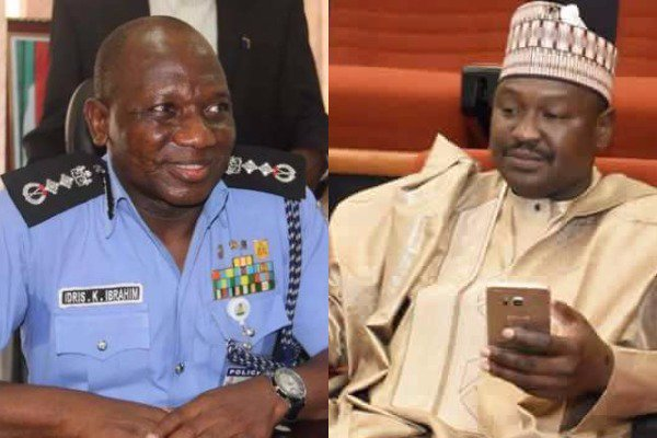 Misau vs IGP: Police boss, Idris honours senate's invitation