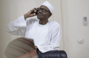 buhari-phone-call