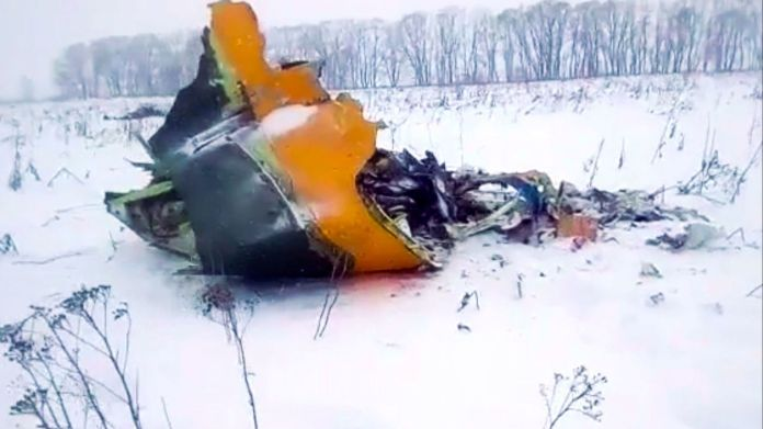 Image result for A Russian airliner has crashed after leaving Moscow's Domodedovo airport, killing all 65 passengers and six crew on board.