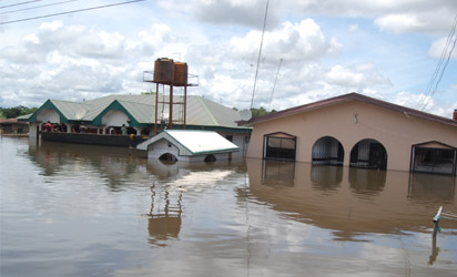 Image result for sokoto flood,7000 people rendered homeless