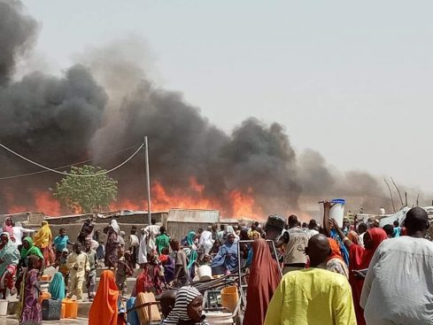 14 dead, 15 injured as fire razes IDPs camp in Borno – Daily Trust