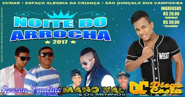 Diego Costa lançará seu novo CD neste sábado (25/03) no Espaço Alegria da Criança, em São Gonçalo dos Campos