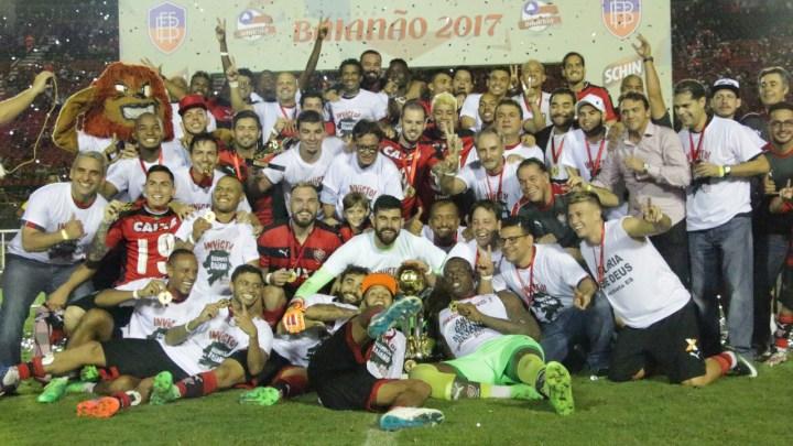 SEM GOLS: Vitória empata com o Bahia e leva título do Baianão 2017