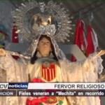 "Piura: Fieles veneran a ""Mechita"" en recorrido multitudinario"