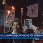 Argentina: Realizan marcha de antorchas pro Derechos Humanos