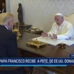 Vaticano: Papa Francisco recibe visita de Donald Trump