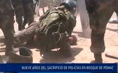 Chiclayo: Nueve años del sacrificio de policías en bosque de Pómac