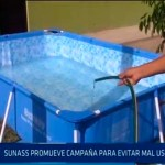 Chiclayo: SUNASS promueve campaña para evitar mal uso del agua