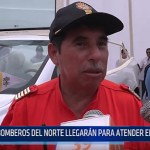 Trujillo: Bomberos del norte llegarán para atender emergencias