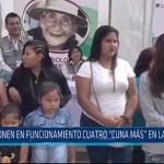 Trujillo: Ponen en funcionamiento cuatro cuna mas en La Libertad
