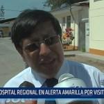Trujillo: Hospital Regional en alerta amarilla por visita del Papa