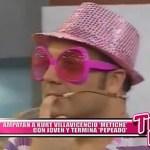 Nacional: Ampayan a Kurt Villavicencio metiche con joven y termina pepeado