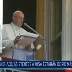 Huanchaco: Asistentes a misa estarán de pie más de 10 horas