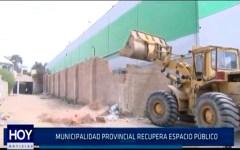 Chiclayo: Municipalidad Provincial de Chiclayo recupera espacio público