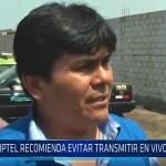 Trujilo: OPSITEL recomienda evitar transmitir en vivo misa papal