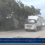 Piura: Polvareda perjudica a vecinos de Asentamiento Humano 30 de enero