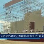 Huanchaco: Supervizan escenarios donde estará el Papa
