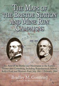 Maps of Bristoe Station by Bradley M Gottfried