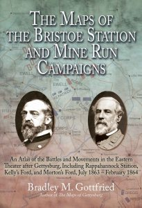 Maps of Bristoe Station by Bradley M Gottfried