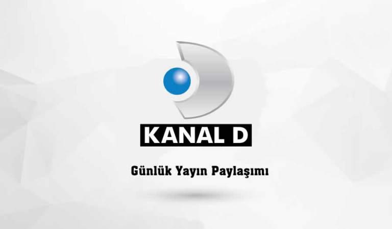 Kanal D Yayın Akışı 29 Nisan 2020 Çarşamba